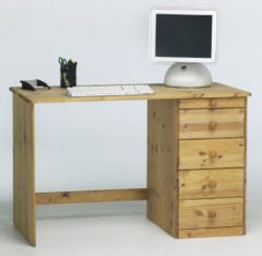 DS Style Bureau Mario 120 cm breed in geolied grenen
