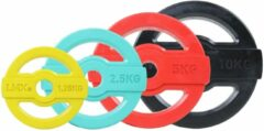Lifemaxx Studio Pump Disc Halterschijf - 30 mm - 2,5 kg - Blauw