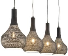 Zaloni Hanglamp Bee 4 lamps - Grijs
