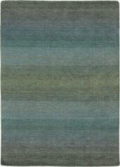 MOMO Rugs - Panorama Grey Blue Vloerkleed - 60x90 cm - Rechthoekig - Laagpolig Tapijt - Design, Modern - Meerkleurig