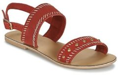 Rode Sandalen Betty London IKARI