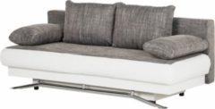SAM® Schlafsofa grau weiß Sofa 203 cm HELGA