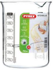 Transparante Pyrex Classic Kitchen Lab maatglas - 0,75 l