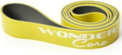 Gele Wonder Core II Wonder Core Pull Up Band 4,4 cm Groen/Grijs - Fitnessaccessoire