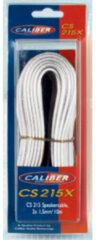 Caliber Accessoire CS215WX - Luidsprekerkabel 2x 1,5 mm- Speakerkabel 10 m - Wit