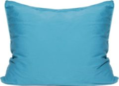 Blauwgroene Van Morgen – Arctic Triumph - Kussensloop - 100% Katoen satijn – Teal / Blauw – 60 x 70 cm