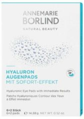 ANNEMARIE BÖRLIND Gesichtspflege Augenpflege Hyaluron Augenpads 6 x 2 Stk.