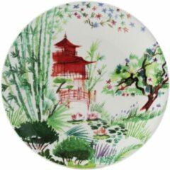 GIEN FRANCE - Jardin Extraordinaires - Gebakbordje 17cm Japan