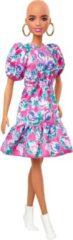 Goudkleurige Barbie Tienerpop Fashionistas No Hair Meisjes 30 Cm Roze