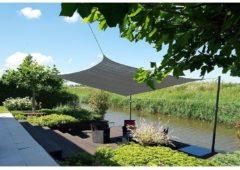 Grijze Schaduwdoek - Nesling - Dreamsail - Waterdicht - Grijs - Vierkant - 4 x 4 x 4 x 4 m (uitverkocht)