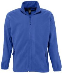 Blauwe Fleece Jack Sols NORTH POLAR MEN
