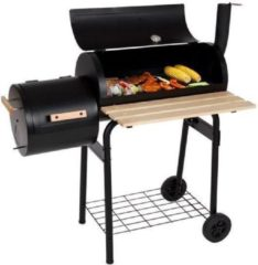 Tectake Multifuncties Grill BBQ Barbecue Smoker met deksel