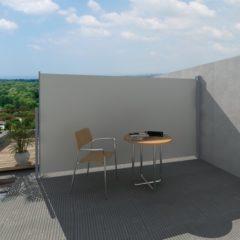 Creme witte VidaXL - Zonnescherm Uittrekbaar wind- / zonnescherm 160 x 300 cm - crème