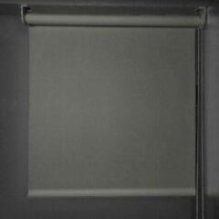 Antraciet-grijze Gordijnenhuis Rolgordijn lichtdoorlatend - 260x230 antraciet