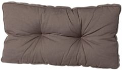 Taupe Madison Florance loungekussen rug ca. 73x43cm - Laagste prijsgarantie!