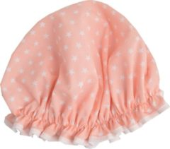 Roze Vagabond Traditionele Engelse Douchemuts - Pink Star