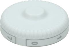 Liebherr Knebel für Kühlthermostat (Aufdruck: 0 1 2 3 4 5 6 7 ) Kühlschrank 7412015