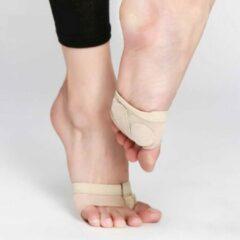 Beige Merkloos / Sans marque Dansvoetjes | Ballet zool | Dansschoenen | Dans sokken | Voeten bescherming