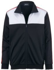 Trainingsjacke Men Plus marine/weiß/rot
