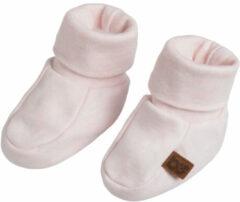 Baby's Only Slofjes Melange - Classic Roze - 3-6 mnd - 100% ecologisch katoen - GOTS