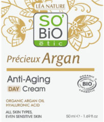 SOBiO tic Day Cream Anti Age Precieux Argan
