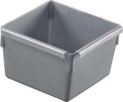 Grijze Curver Ladebakje Zilver 8x8cm (set van 12)