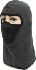 Faas Commerce Ski Masker - Face Mask - Motor Masker - Bivakmuts - Balaclava - Uniseks - Grijs