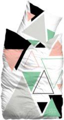 SUENOS Bettwäsche, Sueños, »Remix«, mit bunten Dreiecken