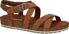 Timberland - Women's Malibu Waves Ankle Strap Sandal - Sandalen maat 6,5, bruin