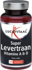 Lucovitaal Super Levertraan Voedingssuplement - 120 capsules