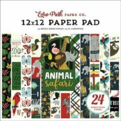 Echo Park Animal Safari 12x12 Inch Paper Pad (ZOO167030)