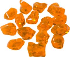 Adori Kunststofkiezels - Aquarium - Siergrind - Geel&Oranje