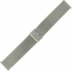 Morellato Horlogebandje Dionis Mesh Milanees Zilver 22mm