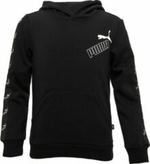 Puma Amplified Fleece Trui Zwart Kinderen
