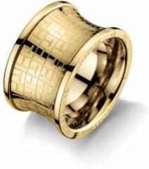 Tommy Hilfiger Ring Waist Jacquard - Goudkleurig - 16.50 mm (52)