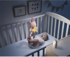 CHICCO Top First Dreams Baby Audio Luisteren + First Dreams Little Bear Night Light - Pink
