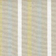 Acrisol Poetry Amarillo 95 gestreept, beige, blauw, bruin, wit stof per meter buitenstoffen, tuinkussens, palletkussens