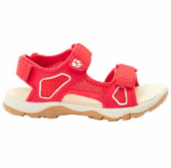 Jack Wolfskin - Kid's Taraco Beach Sandal - Sandalen maat 39, rood/beige