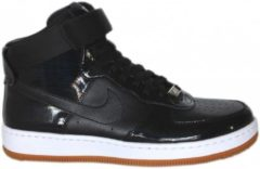 W NIKE AIR FORCE 1 AIRNESS /BLACK-HYPER PUNCH Donna Mod. 654851-001 Mis.38