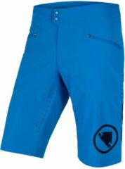 Azuurblauwe Endura SingleTrack Lite Shorts - Ruime korte broeken