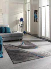 Merinos/karpet24.nl Vloerkleed Brilliance 662-930 Turquoise-80 x 150 cm
