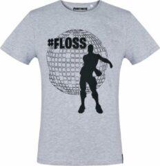 Licht-grijze Pyramid International Fortnite T-shirt met korte mouw - licht-grijs - Maat XL
