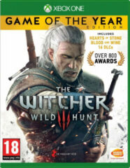 Namco Bandai Games The Witcher 3: Wild Hunt Game of the Year Edition, Xbox One