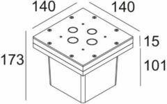 Delta Light Accessoires Cbox 350 mA / 10W DL 2161435
