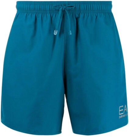 Afbeelding van Blauwe EA7 Sea World Boxer Beachwear Zwemshort Heren
