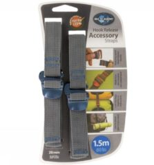 Sea to Summit - Tie Down Accessory Strap With Hook maat 20 mm - 2 m rood