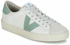 Witte Lage Sneakers Victoria BERLIN PIEL CONTRASTE