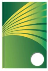 Luxe schrift A6 formaat groene harde kaft