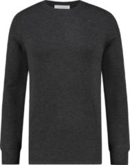 Purewhite Regular fit grijs knitwear never out of stock never out of stock Heren Sweater Maat M