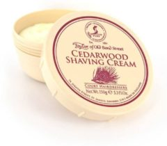 Taylor of Old Bond Street Cedarwood Scheercreme